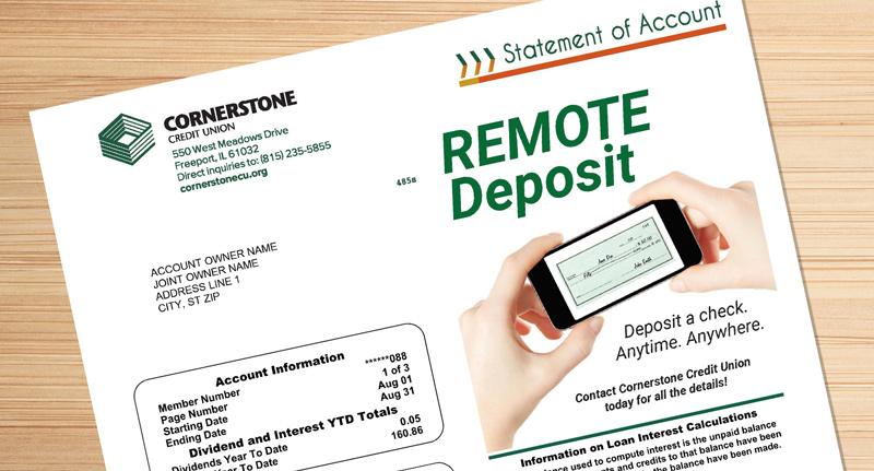 Credit Union Statement Design