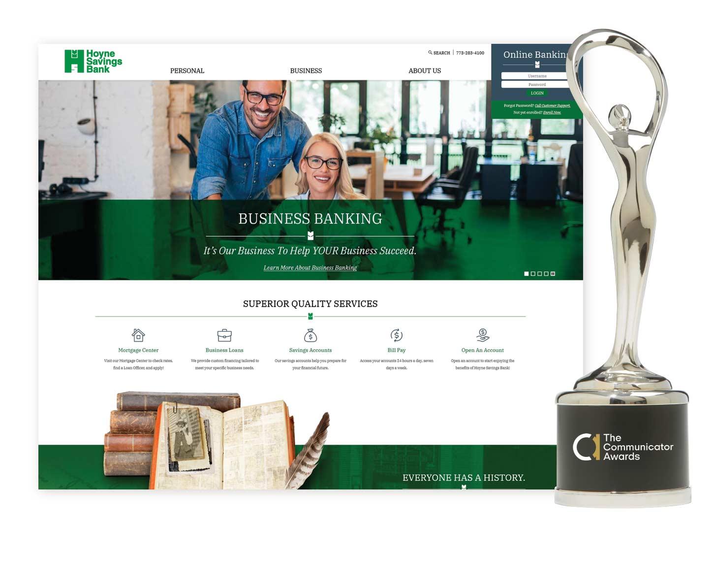 Hoyne Savings Bank Communicator Award