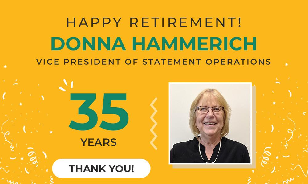 Happy Retirement Donna Hammerich