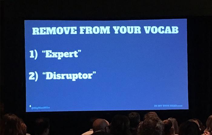 Conference Slide on Tip #18