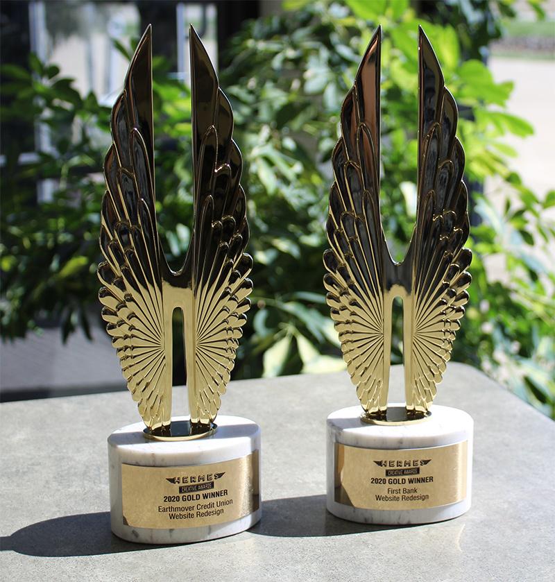Hermes Gold Awards - Financial Website Design