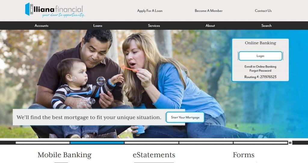 Illiana Financial Website